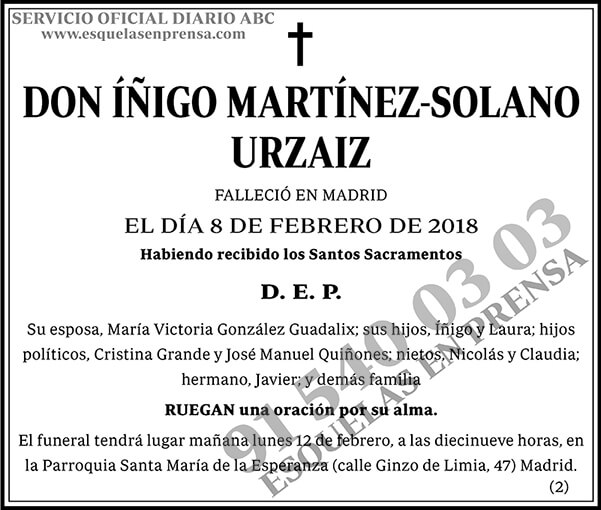 Íñigo Martínez-Solano Urzaiz